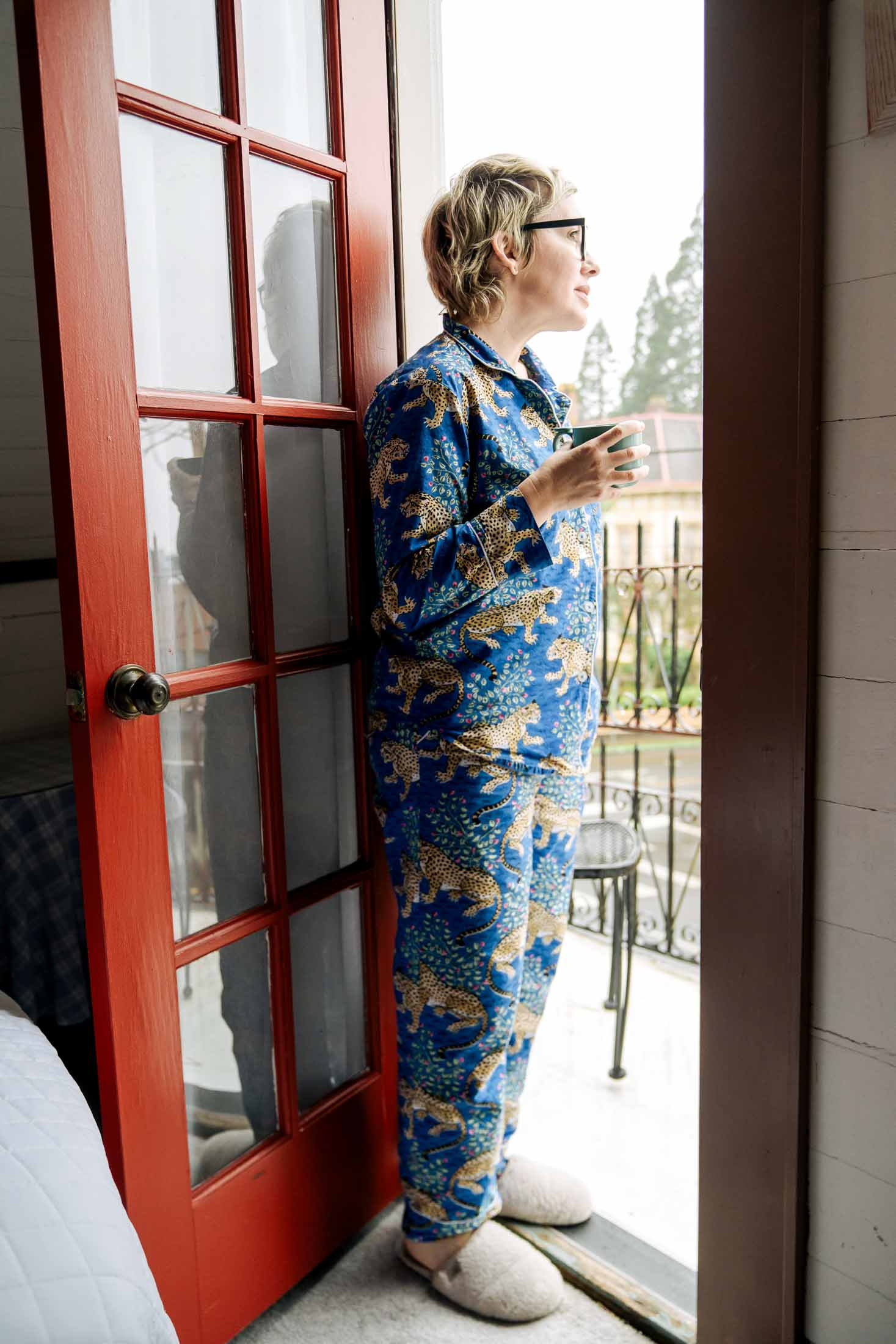 Printfresh pajamas broke me of sleeping in sweats & a tee. THE most gorg prints that make this designer swoon...not to mention they're soft & sustainable w/ inclusive sizing.