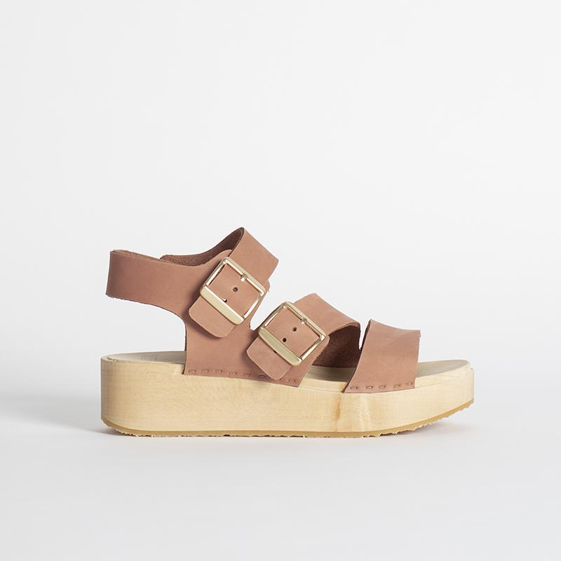 Platform sandals are back and better than ever this summer. A platform clog? Don't mind if I do. Oddly enough, platforms can be some of the comfiest to walk in...maybe a me thing but based on reviews, these look very promising.
