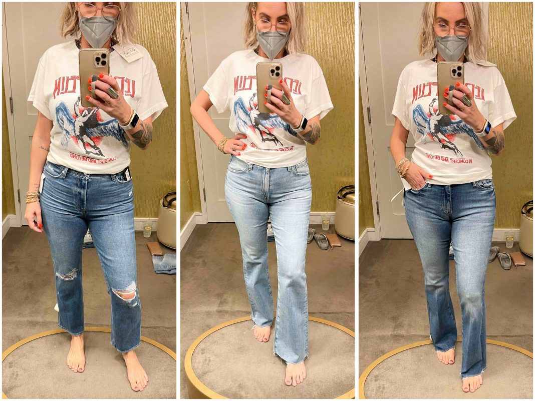 Found: fabulous jeans that flatter our curves & make us feel great. AG, PAIGE, Good American + more denim for those of us with a bit of a booty.