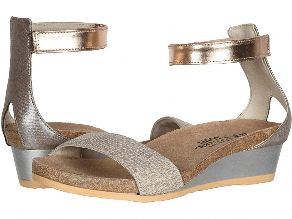 These (velcro-closure!) sandals are ridiculously comfortable, come in a ton of color combinations, can be worn with everything from denim shorts to maxi dresses and are my favorite one-and-done s
