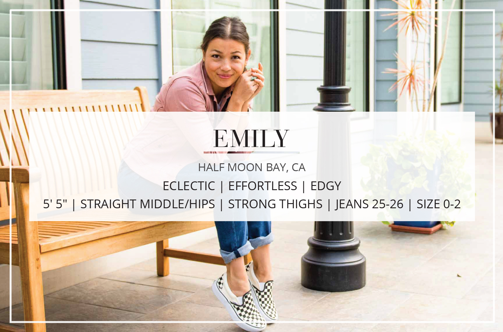 A contributor at The Mom Edit, Emily's style is eclectic, effortless & edgy; her cooking — comfy, fresh & accessible.