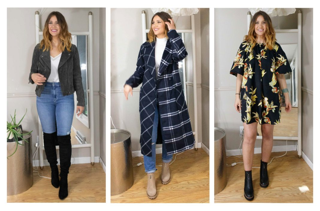 I'm craving fall weather & scheming up all the fab coat, denim & boot combos I can imagine. Think: fall essentials, but with pretty + romantic pieces mixed in, too.