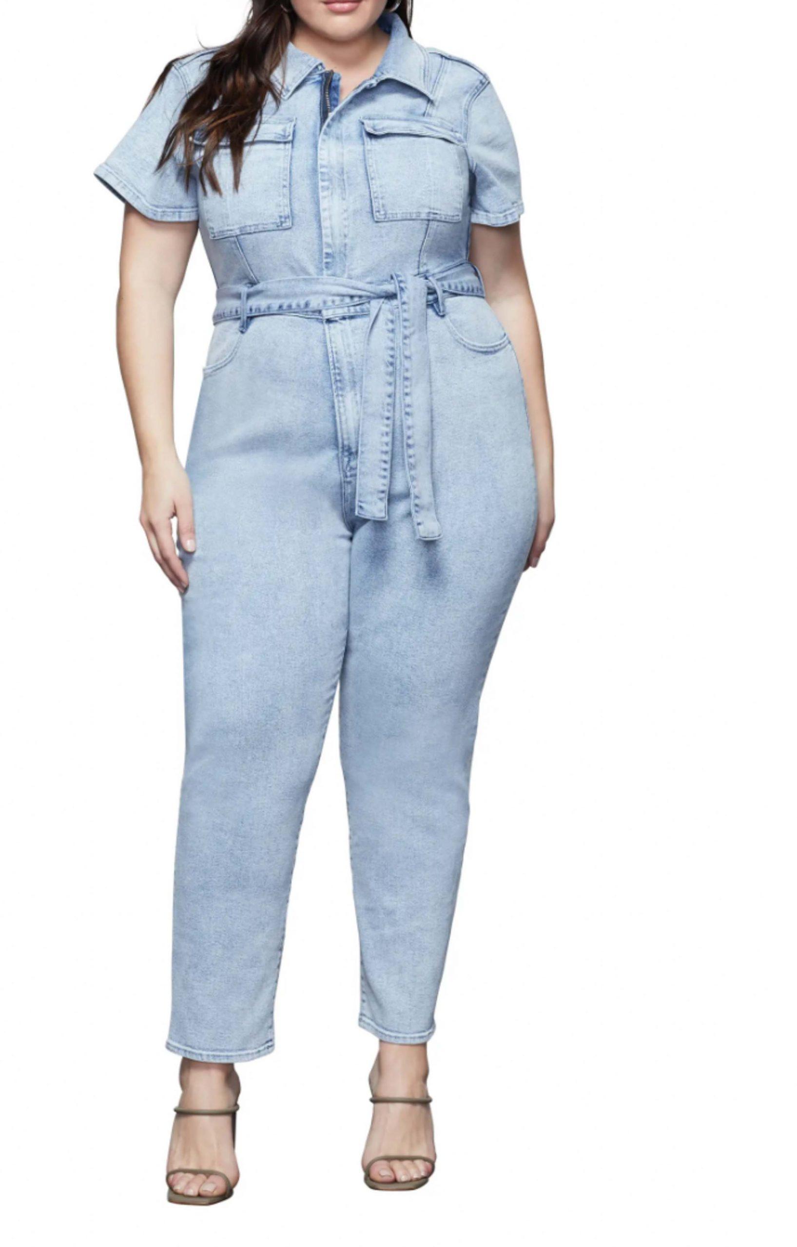 I am hoping that this Good American jumpsuit will fit because I think she is super sexy!