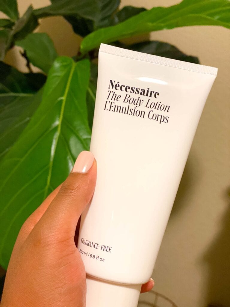 My two top picks from the entire brand are the Nécessaire Body Wash & Lotion, and I was stoked to see that they come as a set for the sale.