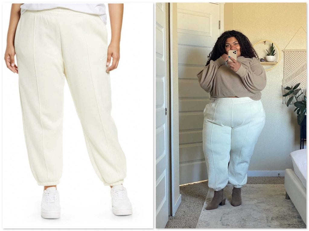 I love all things Nike, and these sweats along with the Nike Palazzos are one of my most worn pieces in my closet.