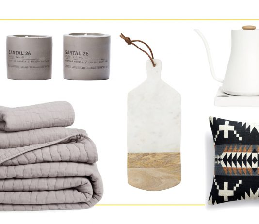 I took a scroll through the Nordstrom Anniversary Sale home decor items & the neutral-color-loving part of my heart skipped a beat.