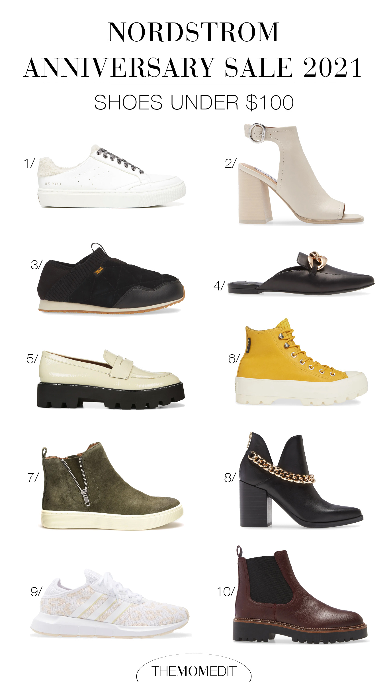 #NSale 2021 offers a rad selection of sneakers, boots, loafers & more from brands like Adidas, Sam Edelman, Teva + Converse...perfect for all those cute fall outfits.