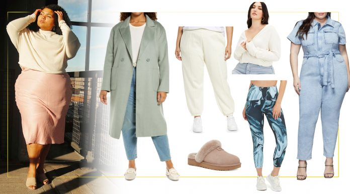 In this #NSale preview, all I could see w/ those cool colors + neutrals was a bit o' nature...ocean vibes, if you will. So here's my cute capsule -- the best plus-size picks.