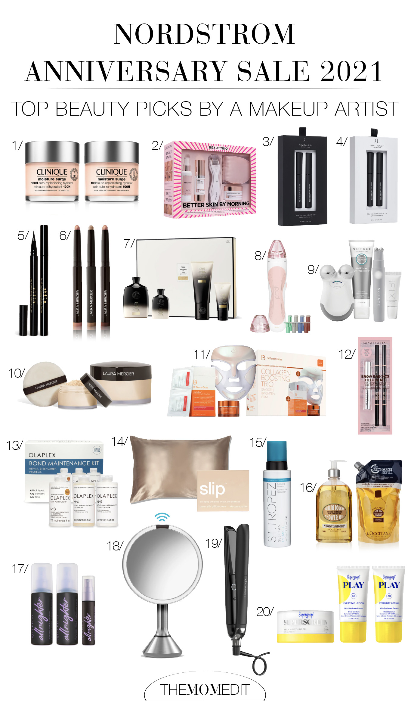 I was thrilled to see all the beauty deals included in this year's Nordstrom Anniversary Sale! As a makeup artist, I had to put together a list of my top favorites.