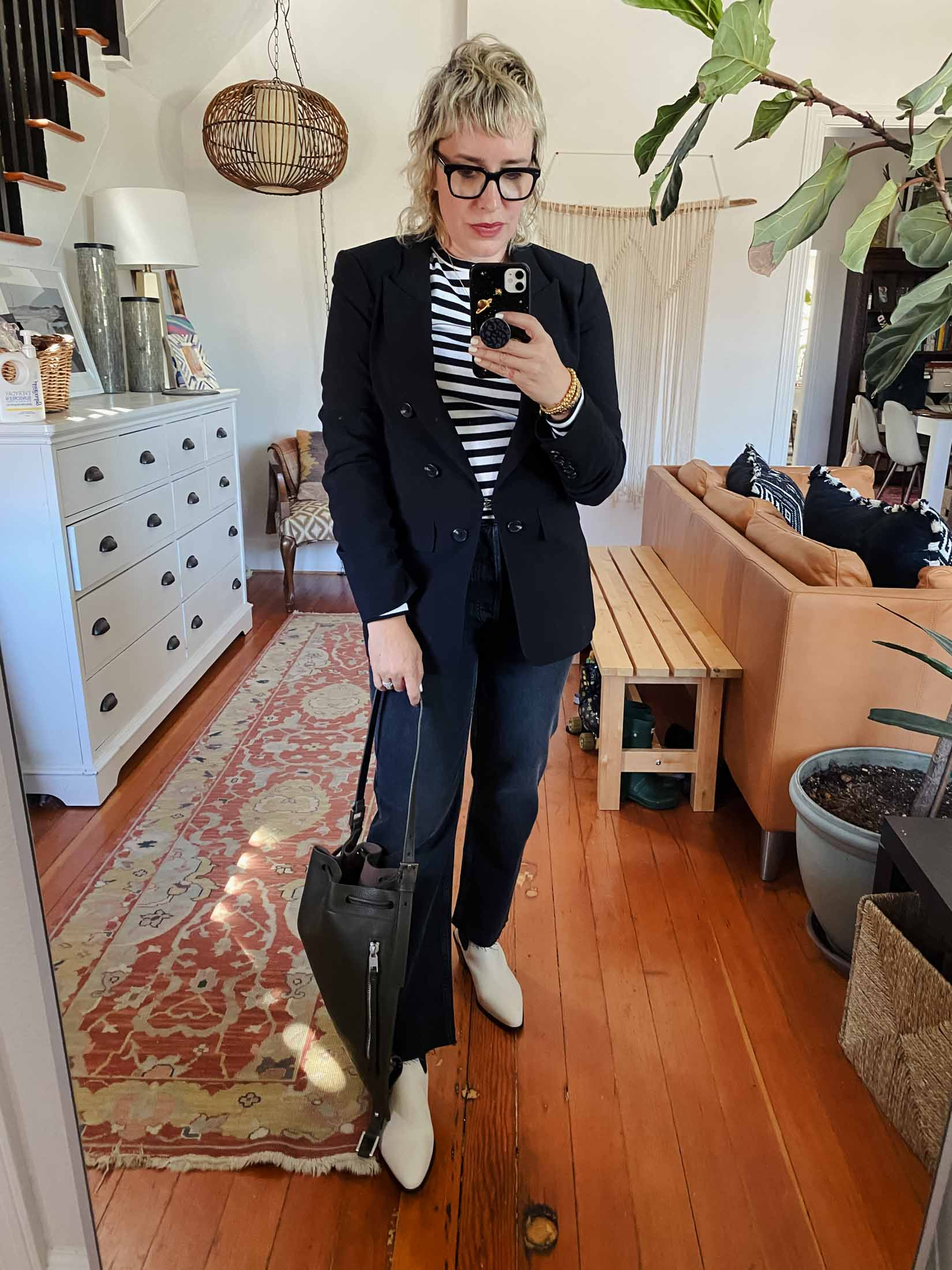 It really wouldn't be an NSale without me in a blazer. I'm so glad I found this 1.State blazer in the store.