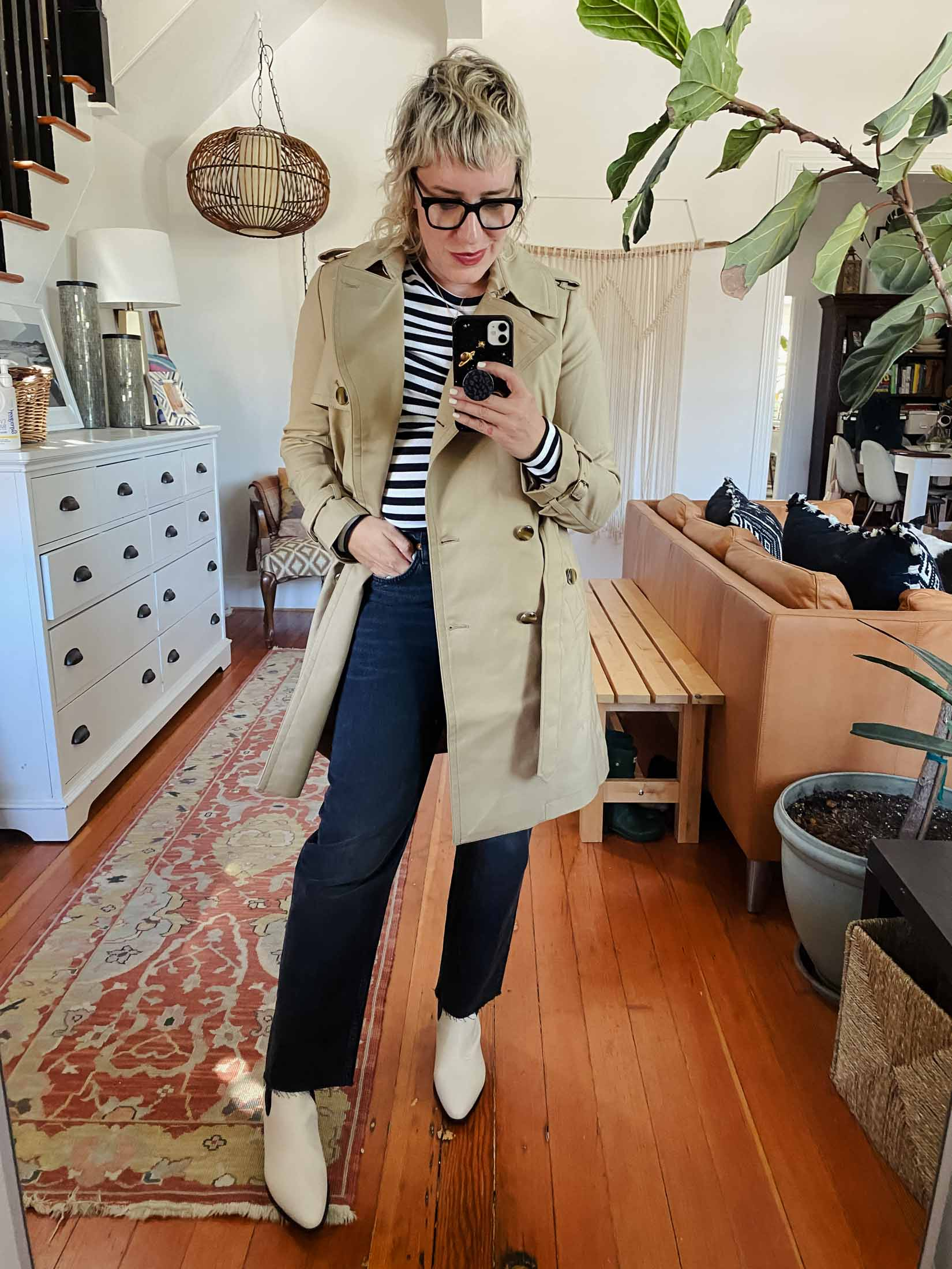This lovely Club Monaco jacket wasn't really on my radar as a first-pick or go-to item...but I'm so incredibly glad I tried it on. It's so freaking well-made and is cut beautifully.