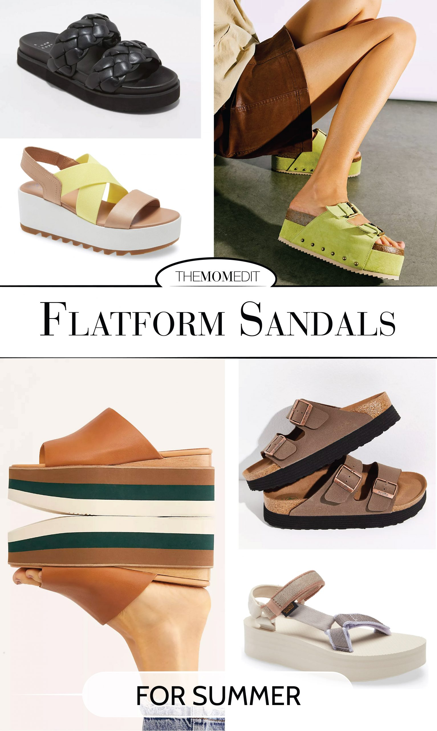 Flatform sandals are super versatile. I love pairing them w/ straight-leg jeans, flirty dresses + short shorts. If you're a fan of '70s vibes, pair 'em w/ flare jeans.