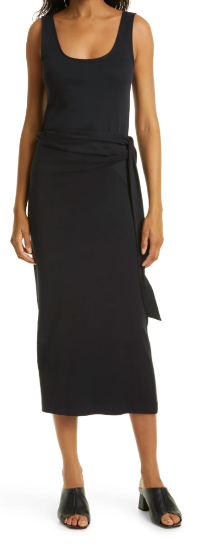This ultra-soft dress from Vince is the perfect everyday dress for summer. I love the flattering wrap waist detail and its relaxed fit --  so effortless yet polished.