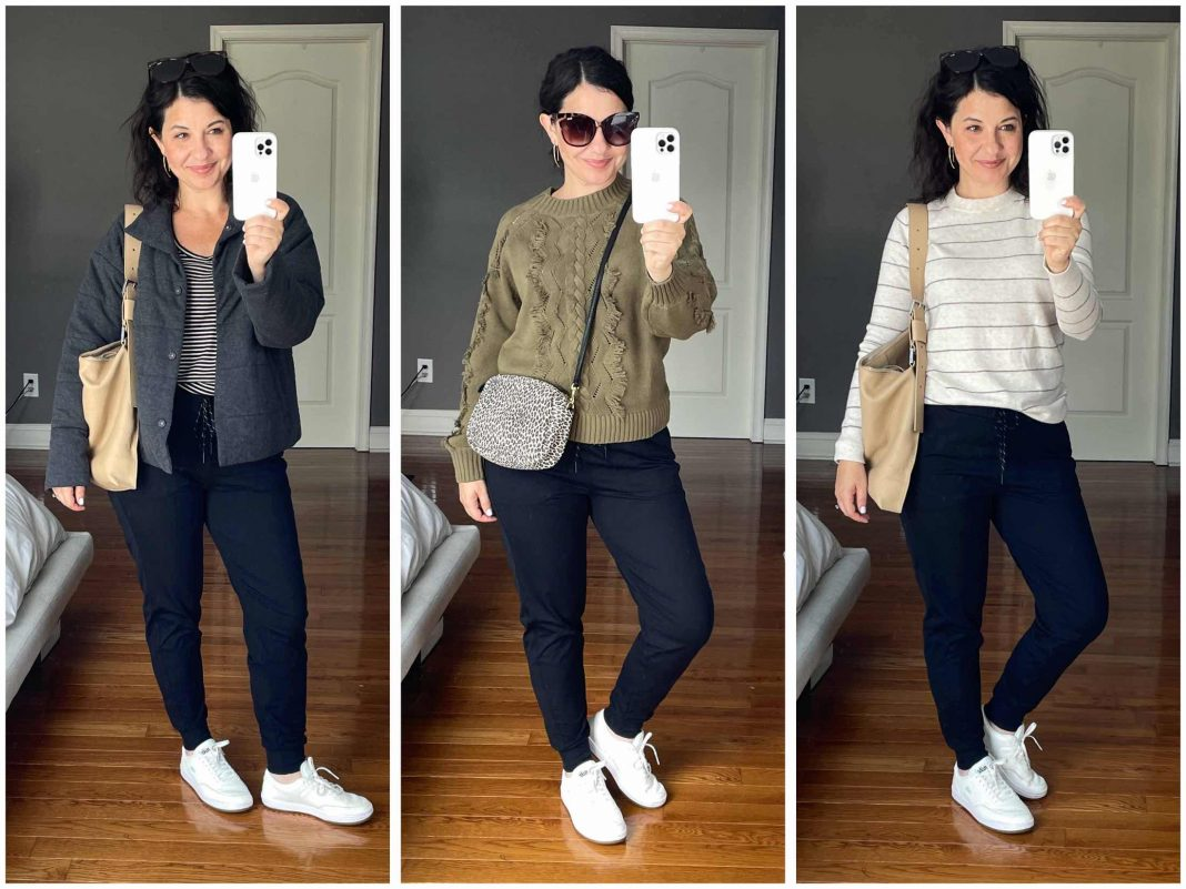 The best part of Zella joggers is that the material is nice-looking enough to wear in many