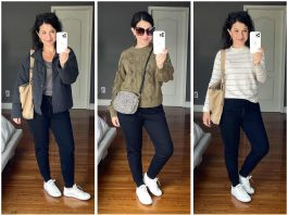 """The best part of Zella joggers is that the material is nice-looking enough to wear in many """"non-workout ways"""" — like with these cute white court-style sneakers."""