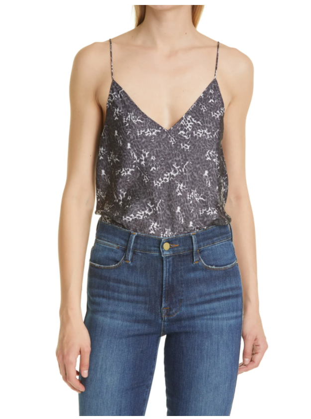 I am living for this PAIGE Cicely Leopard Print Camisole. It doesn't scream ANIMAL PRINT, but it's definitely fierce (see what I did there?).