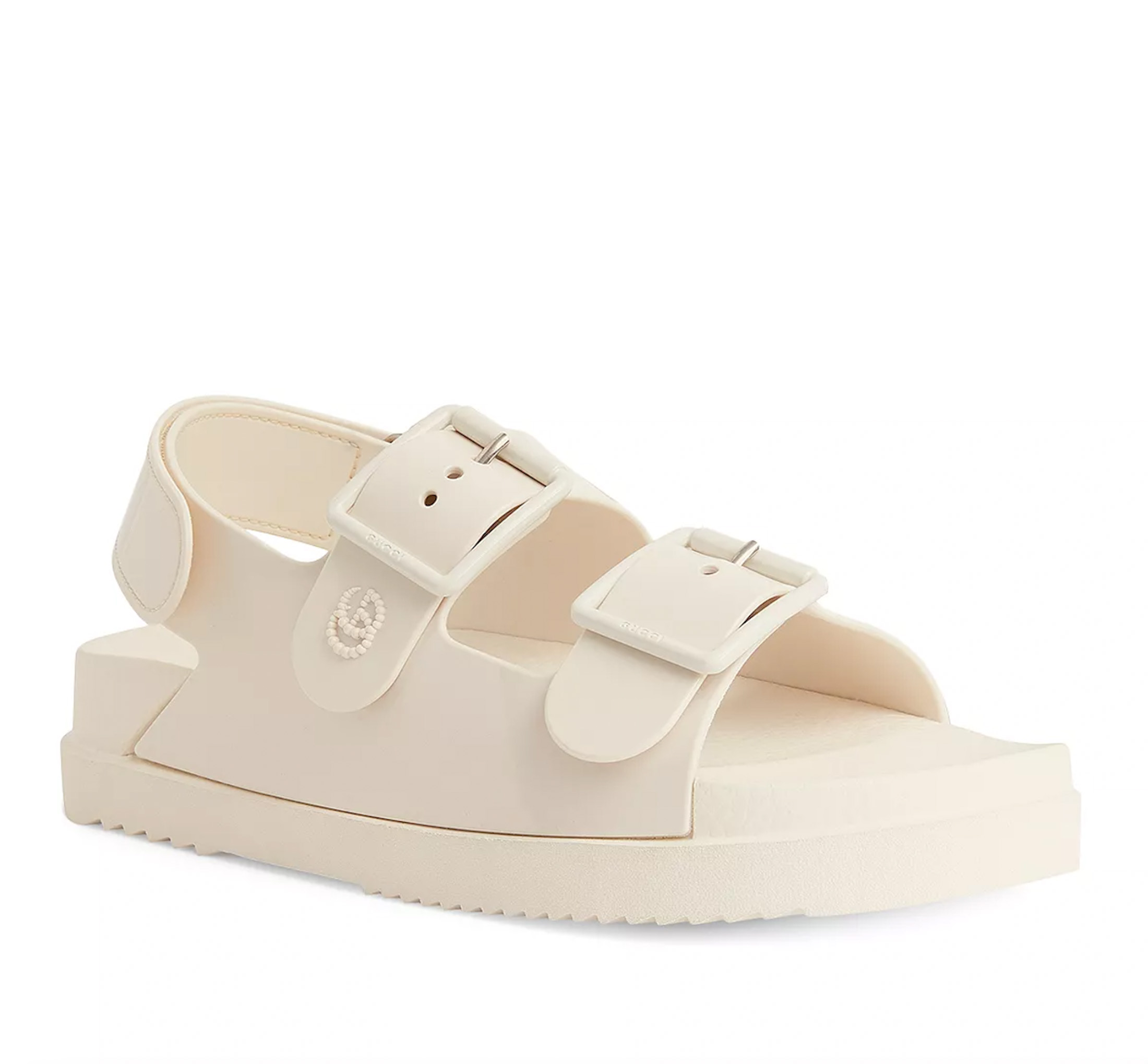 I am in love with these Gucci double strap platform sandals! They give me total dad sneaker vibes (and I love it).