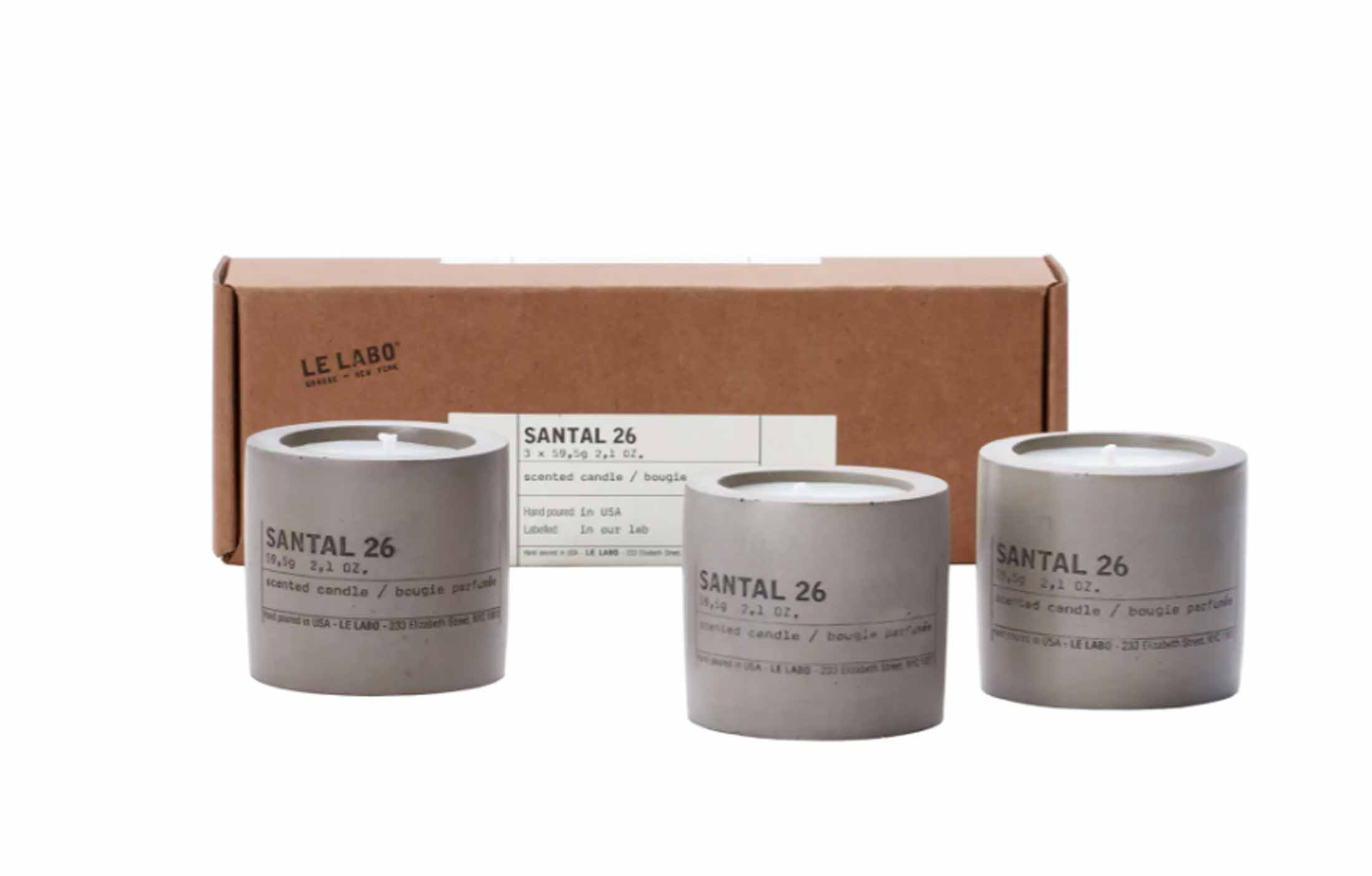 Have you smelled Le Labo scents? They are really other-worldy good. Like, addictingly so. Love the concrete votives. Just so rad.