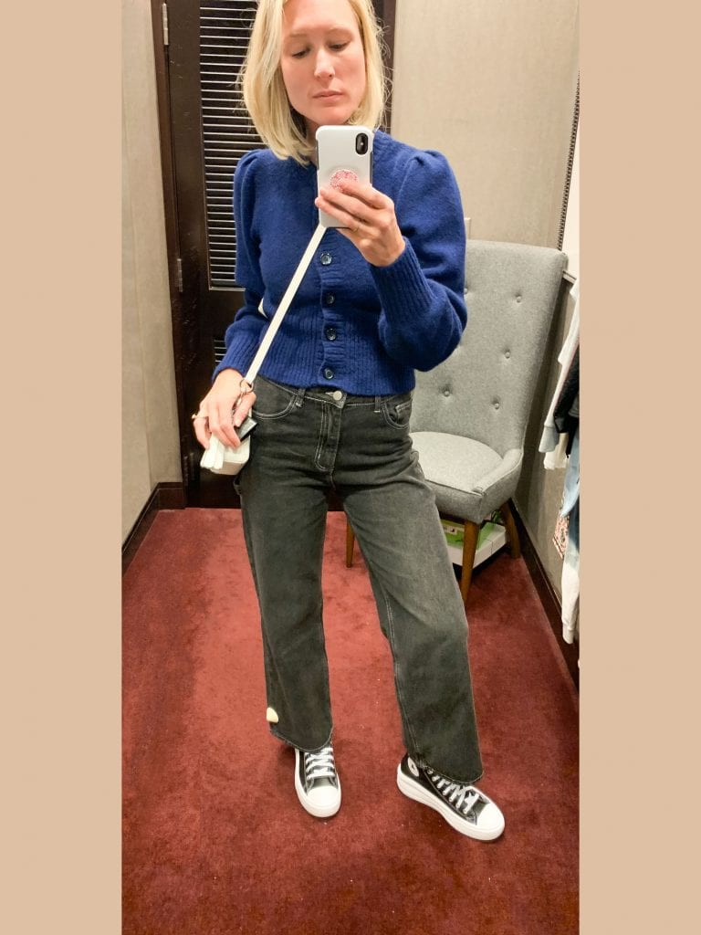This round of Nordstrom Anniversary Sale try-ons, I've emerged with plenty of jeans for fall, some comfy dresses, a cheery shoulder bag + some epic square toe booties.