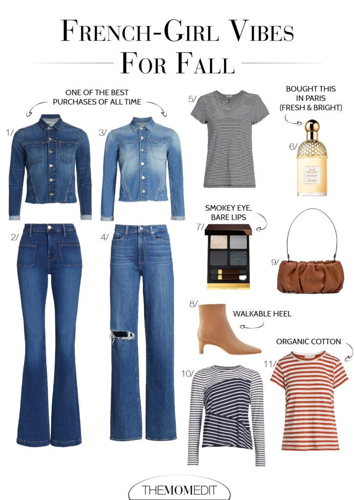 Denim-on-denim feels exactly right w/ the slight '70s vibe I'm cooking up, + accessories in shades of tan & caramel not only look luxe, but definitely make my heart beat fast.