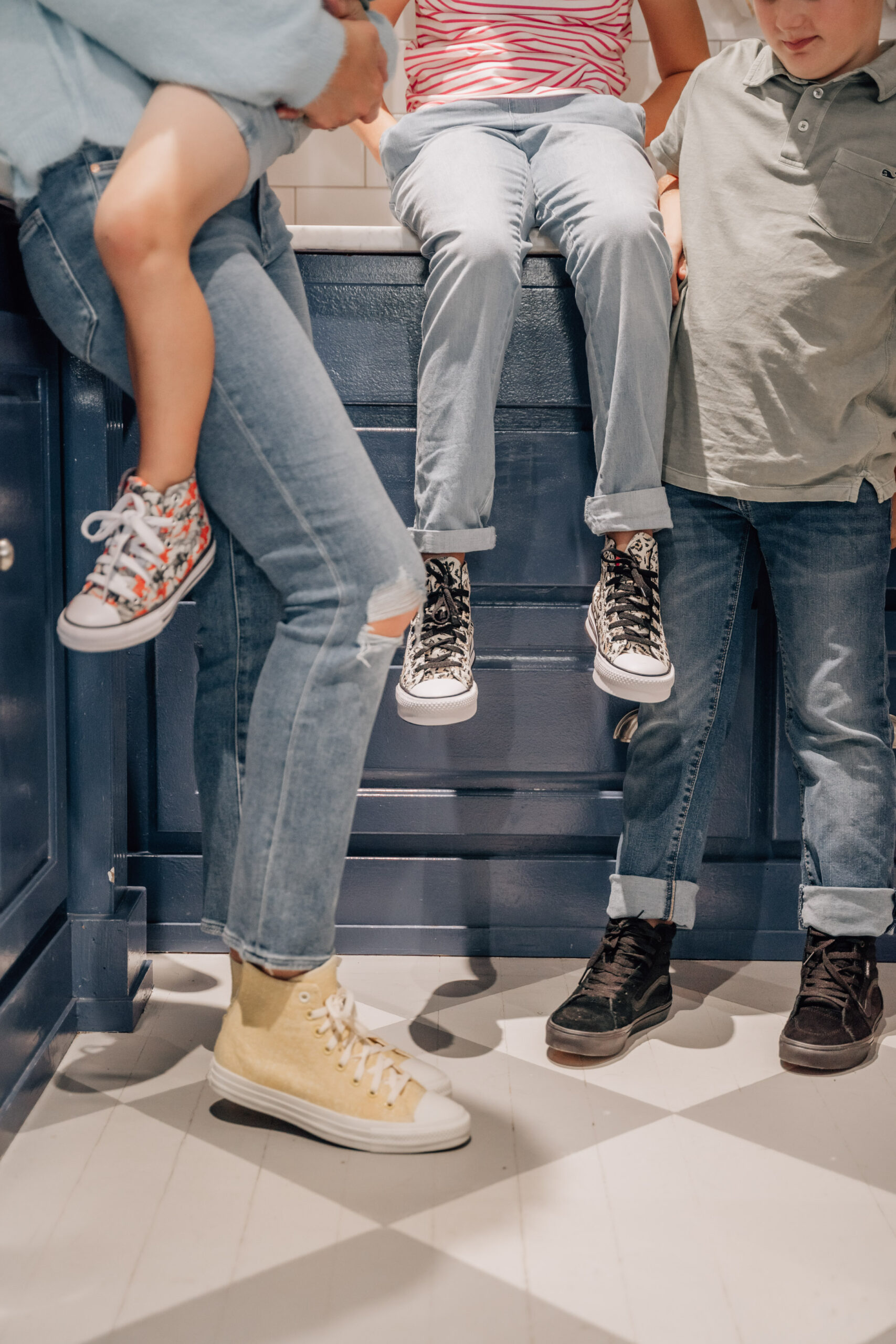"""I guess that it sorta goes without saying then that while gearing up for Back-to-School shopping, high-tops made it to the top of """"The Essentials"""" list."""