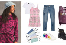 So, what do you buy for a tween's back-to-school wardrobe that isn't superheroes & sparkles, but also isn't...whatever actual teens are wearing.