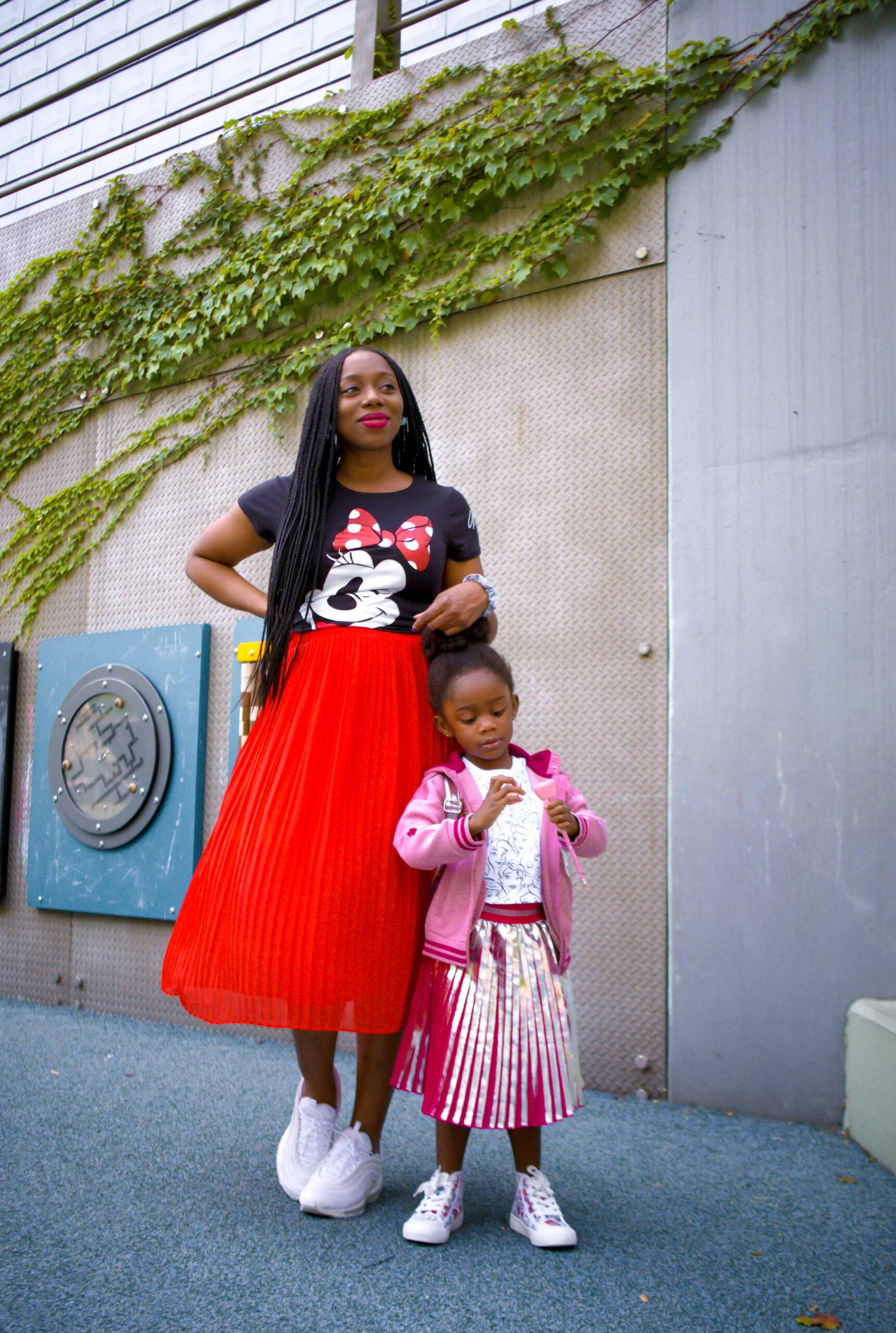 I'm raising a walking talking shopDisney fan girl. All things princesses & Minnie Mouse make her heart sing. shopDisney's selection of cute-yet-practical apparel did not disappoint!