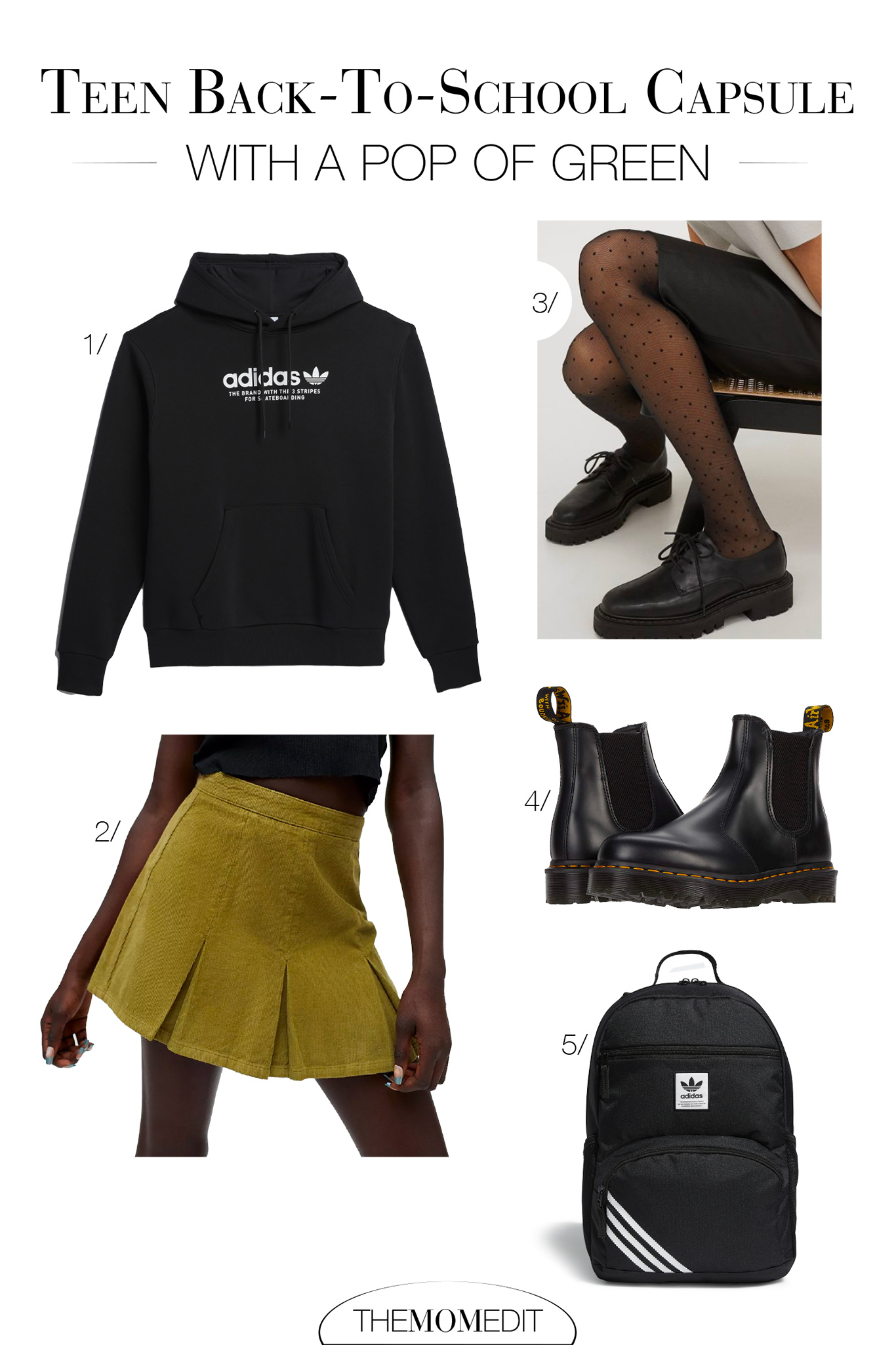 I'm loving this whole mix of cute pieces, edgy pieces & sporty ones, too, plus an array of classic investment pieces paired w/ a few trendy items. Love.