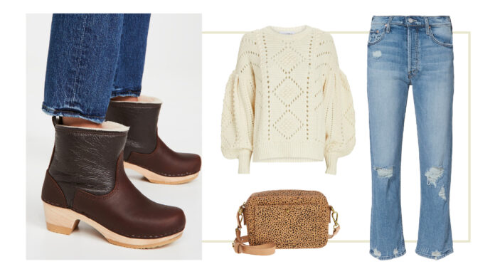 Clog boots are a little tricky sometimes, but I had fun pulling some great outfits together to show their versatility. And coziness. That's the main draw, friends....their coziness!