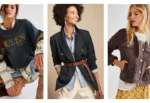 Some classic pieces are popping up this fall...double-breasted blazers...belted even...gorg knee boots, cowboy boots, oversized tops, flare jeans...it's a whole new ballgame from last year's...sweatpants.