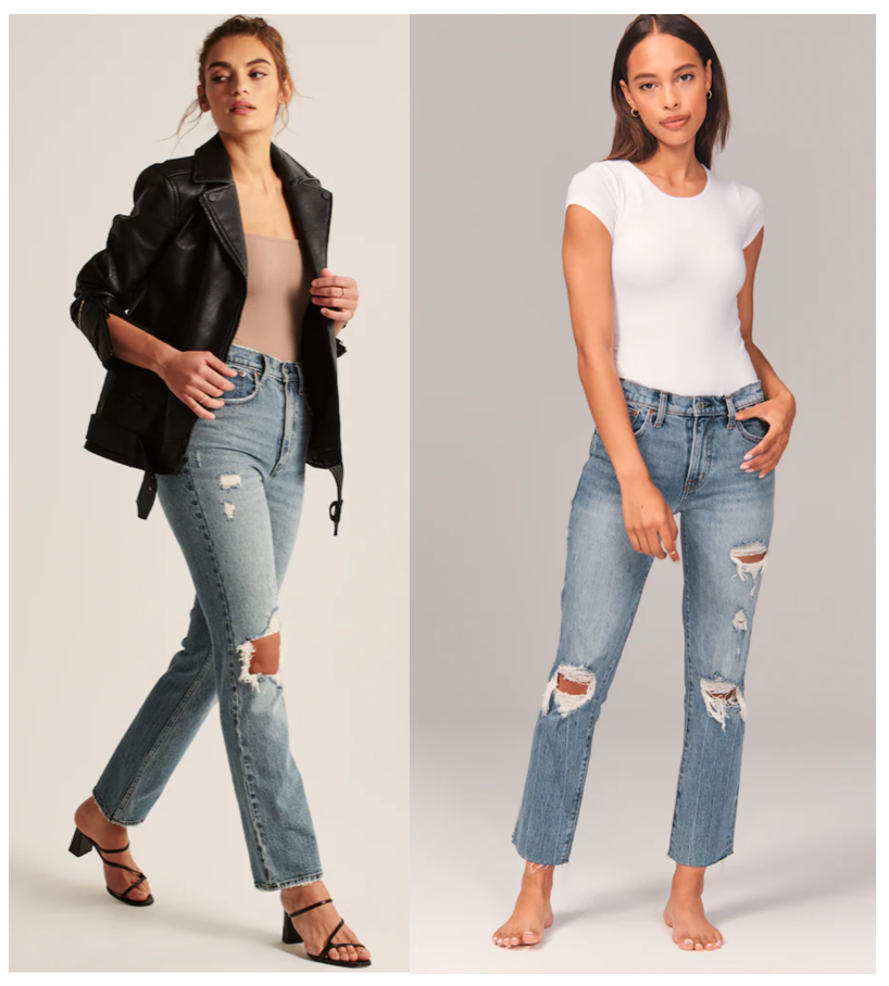 We're longtime fans of Abercrombie jeans. Their loungewear + seriously cute dresses are something to rave about too. Snag something during this sale.
