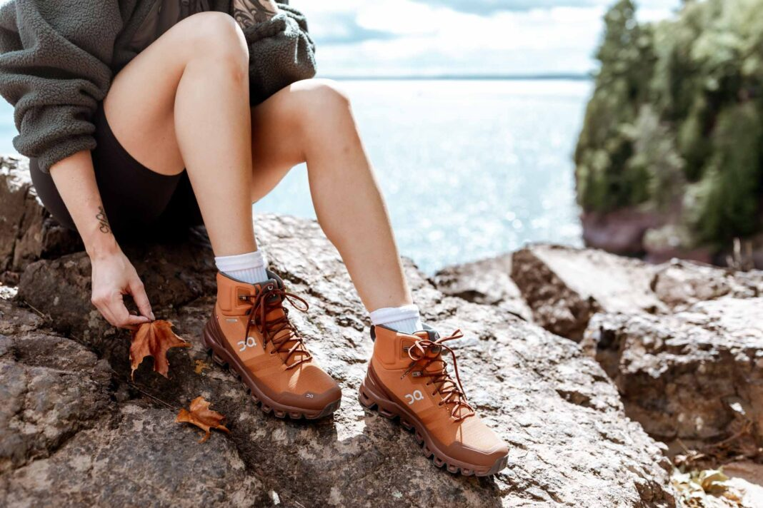 I've been on trails with almost every style of shoe but never one that was cute & preformed well until I found the On Cloudrock Hiking Boot. Waterproof, comfy, stylish & lightweight.