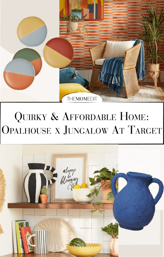 The Opalhouse x Jungalow collection harnesses a bohemian vibe mixed with unexpected details, colors & shapes, + it's... really cool.