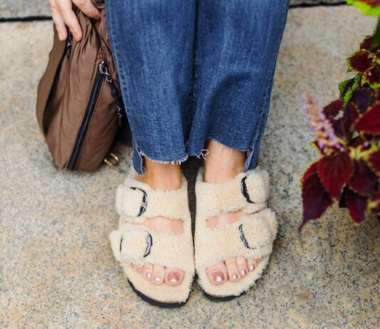 Since the moment these cozy, fuzzy, made-for-function, built-for-comfort, shearling Birkenstocks & platform UGGs arrived, I've worn them at some point every.single.day.