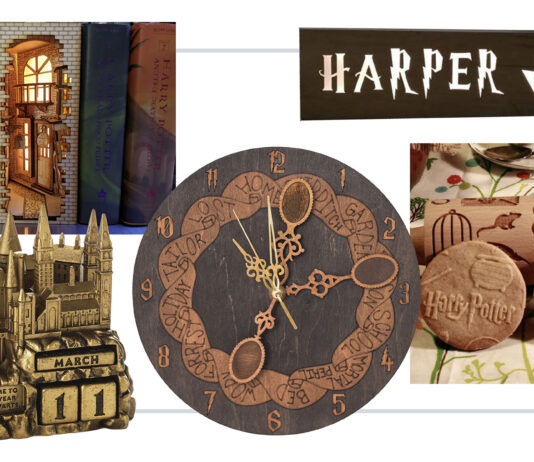 I've rounded up 24 whimsical, delightful -- &, ahem, not at all cheesy -- gifts for the Harry Potter-lover. Everything from a slick coding wand & games for the family to fashion accessories + even our fave illustrated version of the series.