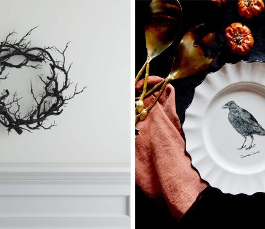 Found: a bunch of dark, creepy(ish) home decor pieces that work SO well in terms of spooky Halloween, but also if you just love some added darkness in your space. Let's get moody.