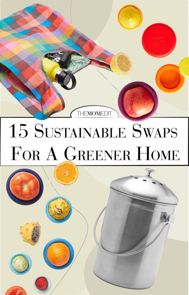 We've put together an easily-digestible list of 15 eco-friendly swaps that are super-easy. This list makes it way easy to go plastic-free, for a more sustainable home.
