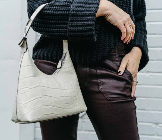 Enter my favorite joggers ever — in a chic, coated version! Not only do these beautiful pants perform well in wet weather, but they look almost fancy doing it.